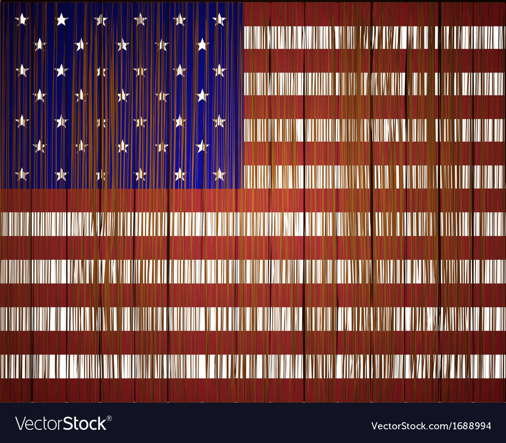 Grunge usa flag eps10 vector | Price: 1 Credit (USD $1)