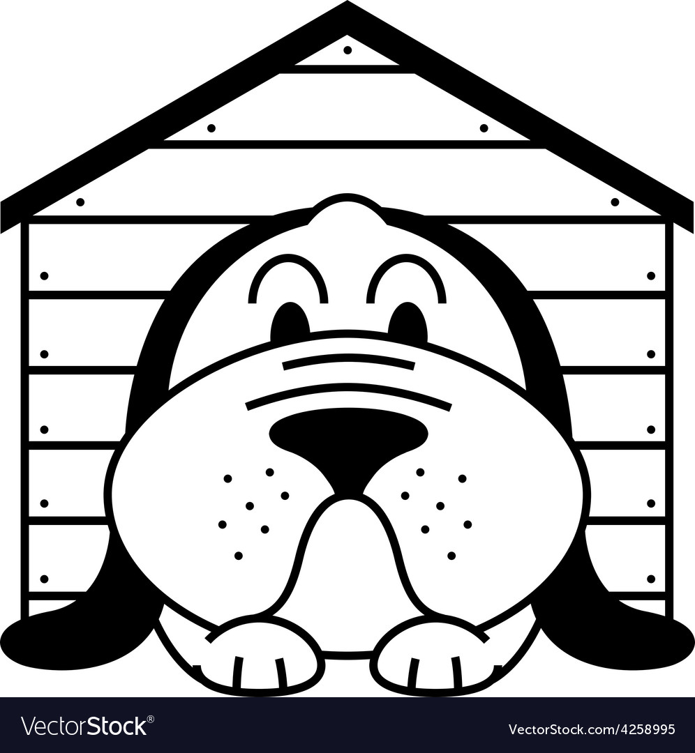 Kennel dog vector | Price: 1 Credit (USD $1)