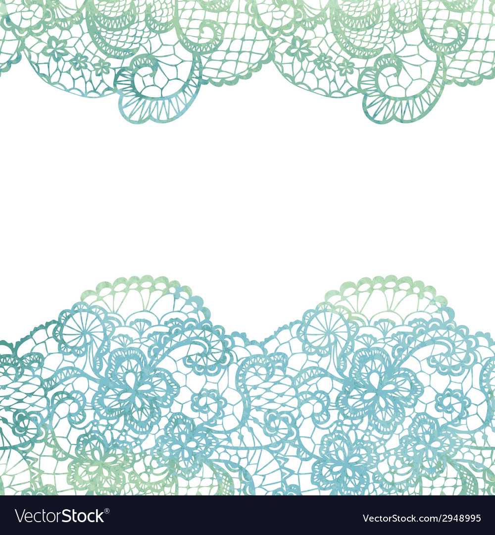 Lacy elegant border invitation card vector | Price: 1 Credit (USD $1)