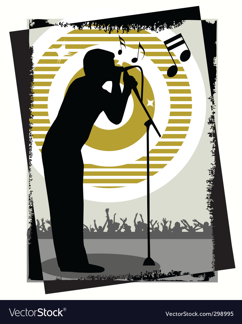 Singer vector | Price: 1 Credit (USD $1)