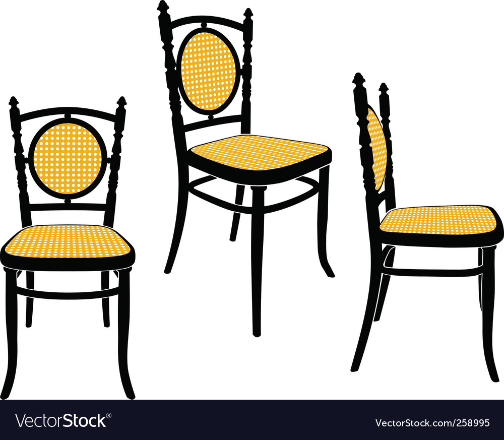Vienna chair vector | Price: 1 Credit (USD $1)