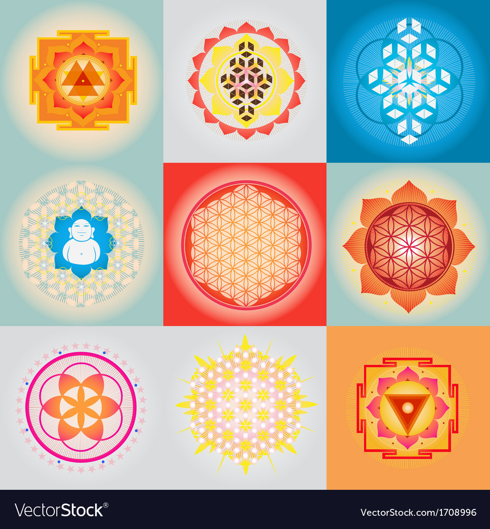 Sacred geometry set vector | Price: 1 Credit (USD $1)