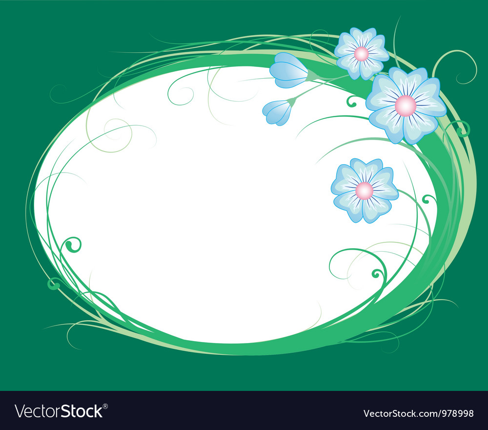 Cornflowers the vignette vector | Price: 1 Credit (USD $1)