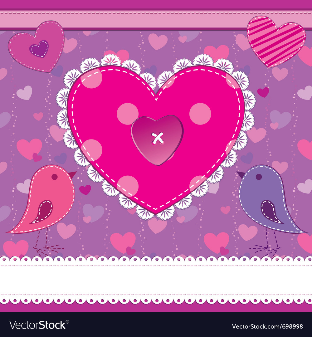 Cute greetings card vector | Price: 1 Credit (USD $1)