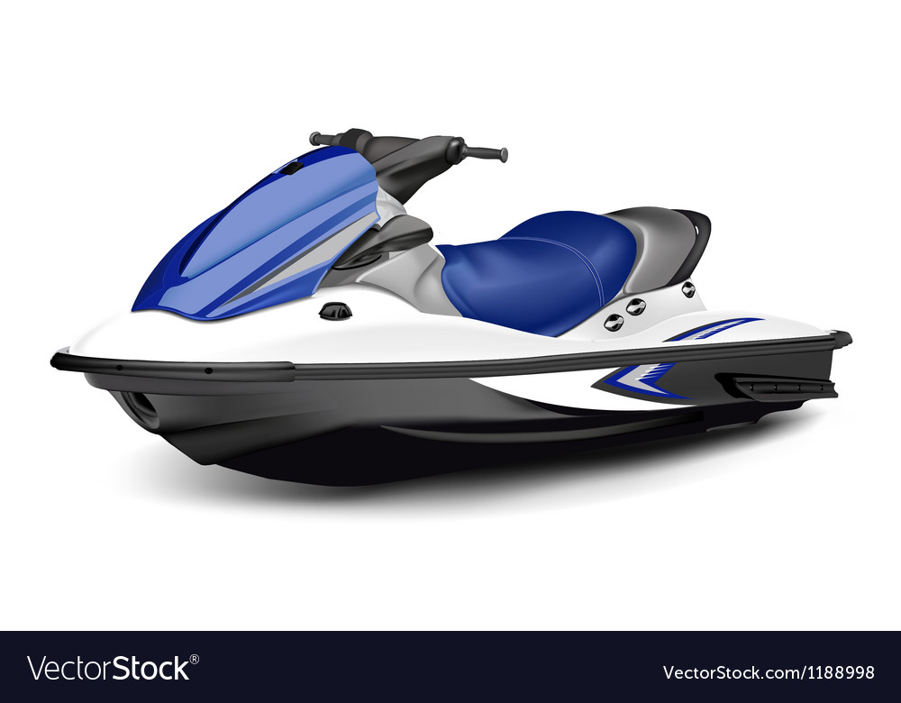 Jet boatscooter vector | Price: 3 Credit (USD $3)