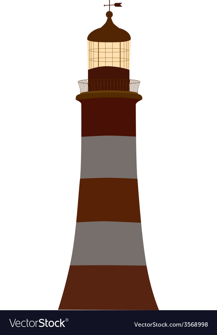 Old lighthouse vector | Price: 1 Credit (USD $1)