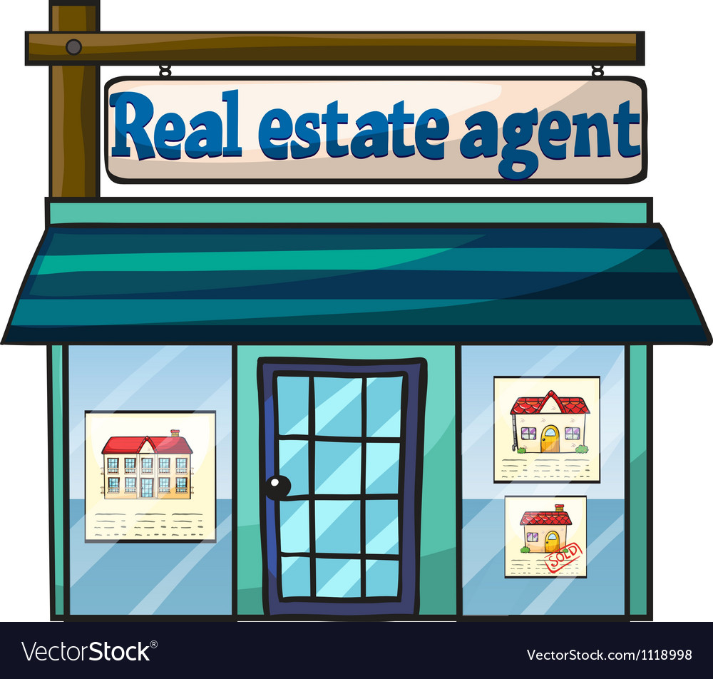 Real estate agent vector | Price: 1 Credit (USD $1)