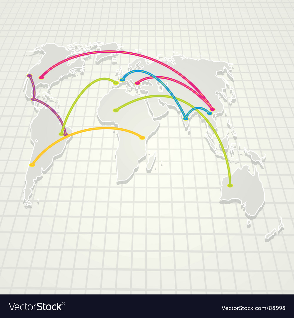 World trades background vector | Price: 1 Credit (USD $1)