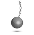 Wrecking ball vector