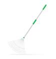 Garden tool rake vector