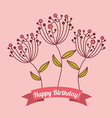 Birthday design vector