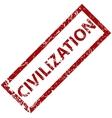 Civilization rubber stamp vector
