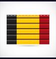 Belgium siding produce company icon vector