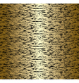 Seamless gold and black abstract pattern vector