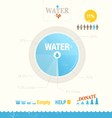 Water is life info graphic vector