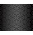Luxury seamless black floral wallpaper vector