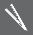 Iron hair design vector