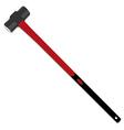 Hammer red vector