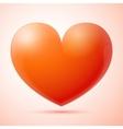 3d heart isolated vector