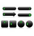 Buttons for web vector