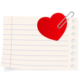 Love letter icon vector