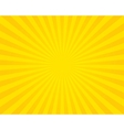 Yellow flare background vector