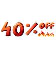 A big discounted sale vector