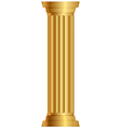 Gold column vector