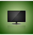 Green background with display vector