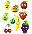 Fruit cartoon vector