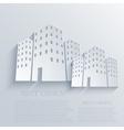 Real estate background vector