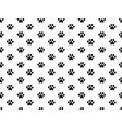 Animal footprint pattern vector