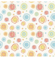 Abstract vintage seamless pattern - color c vector