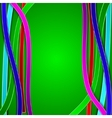 Abstract background with colored lines vector