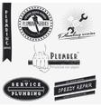 Plumbing service home repairs repair and vector
