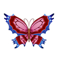 Colorful bright butterflies vector