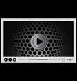 Video player for web vector