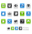 Food icons 1 clean series vector