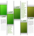 Window layout green vector