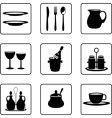 Tableware vector