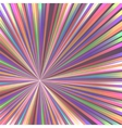 Abstract colorful rays vector