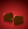 Candy hearts valentines vector