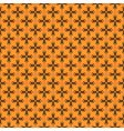 Pattern with crosses vector