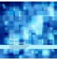 Mosaic abstract high-tech background vector