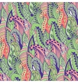 Seamless abstract hand-drawn grass pattern wavy vector