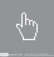 Mouse hand cursor vector