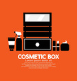 Cosmetic box vector