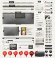 Web design kit vector