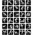 Summer sports symbols vector