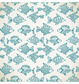 Fish pattern in abstract style vector